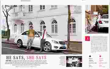 He says She says / Mercedes-Benz Magazine