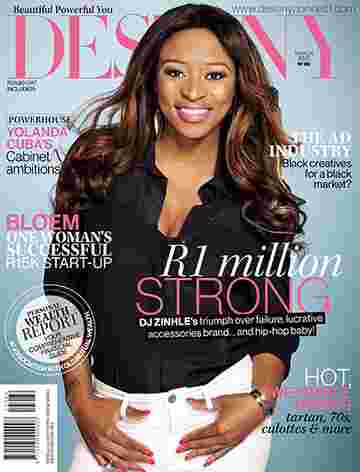 DJ Zinhle for Destiny Woman